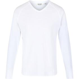 Regatta Kiro II Camiseta Manga Larga Hombre, white